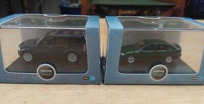 Oxford Diecast 76DIS002 & 76VV001 Land Rover And Vauxhall Vectra • 8.99£