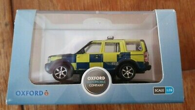 Oxford 76LRD001 Land Rover Discovery Essex Police Car Boxed • 6£