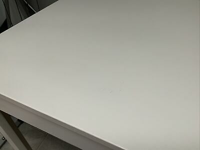 IKEA EKEDALEN Extendable Dining Table  White And 2 White Chairs  Collection Only • 70£