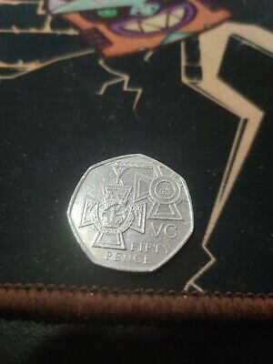2006 Royal Mint VC 50Pence Coin - Victoria Cross • 0.99£