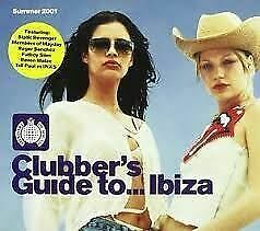 Clubber's Guide To Ibiza - Summer 2001: Mixed By Tall Paul And Fergie CD • 1.69£