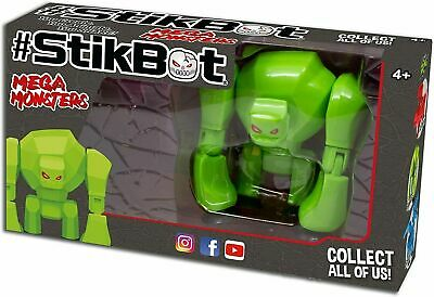 StikBot Mega Monsters - GIGANTUS Green  • 12.99£