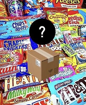 £14.99 • Buy American Candy Box! Variety Of Sweets/Chocolates And Snacks