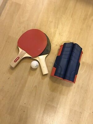 Portable Table Tennis Set With Net • 15£