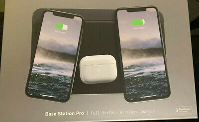 $ CDN97.69 • Buy Nomad Base Station Pro 7.5W Flat Qi Wireless Charger - Black
