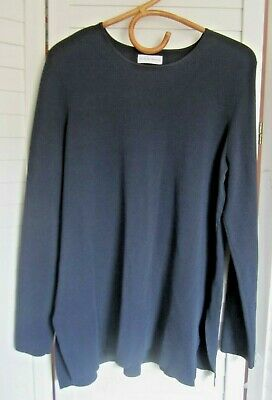 AU79 • Buy XLNT-SCANLAN THEODORE Understated Ponte-Knit L/Slv Top - Sz Large