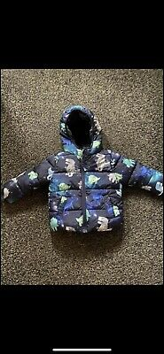 Debenhams Bluezoo Boys Dinosaur Coat 12-18 Months • 10£