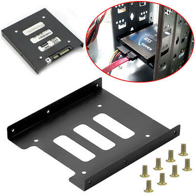 AU6.39 • Buy 2.5  SSD HDD To 3.5  Mounting Adapter Bracket Tray Dock For PC SSD Holder JKYJSG