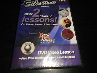 $ CDN3.84 • Buy Silvertone Presents 2 Hours Of Lessons  For: Electric, Acoustic & Bass Guitars
