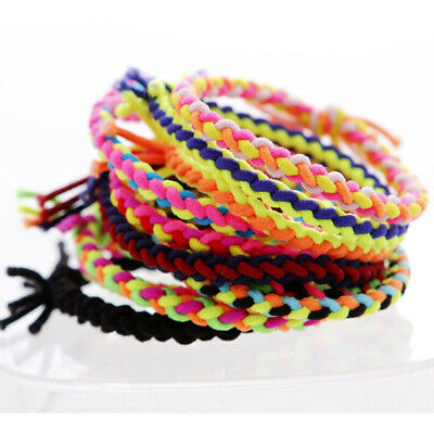 $ CDN5.72 • Buy 20pcs Hair Ties Hand Knitting Hair Accessories Ponytail Holders For Girls Women