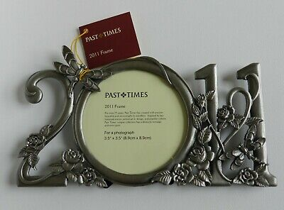 £20.11 • Buy Past Times Pewter 2011 Year Photo Frame