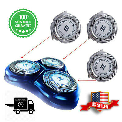$ CDN17.84 • Buy 3pcs HQ8 Replacement Heads Dual Precision For Philips Norelco Shavers And Blades