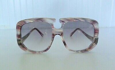 £950 • Buy VINTAGE OLIVER GOLDSMITH  PERTH  1960's TRANSLUCENT SUNGLASSES VERY RARE WOW!!!