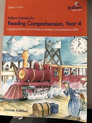 £11 • Buy Brilliant Activities For Reading Comprehension, Year 4: Engaging Stories And...