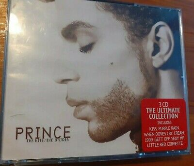 PRINCE - THE HITS/B-SIDES COLLECTION (1993) 3xCD SET • 2.49£
