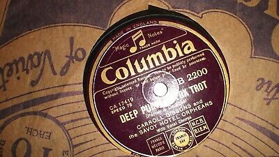 Carroll Gibbons And The Savoy Hotel Orpheans. Deep Purple Fox Trot. 78rpm. • 15£