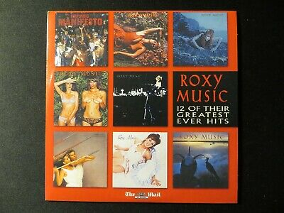 £1.99 • Buy Roxy Music - 12 Of Their Greatest Ever Hits CD - Daily Mail CD