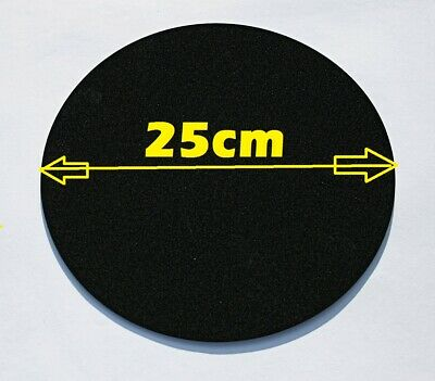 £2.98 • Buy Foam Rubber Sheet, Pad 25 Cm Round X 3 Mm Thick Self Adhesive. Table Protector.