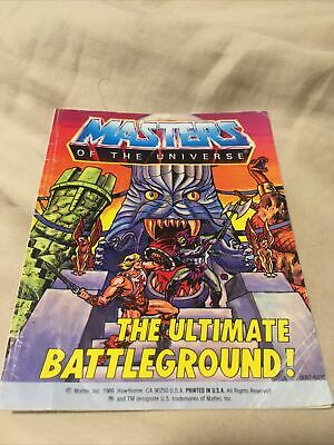$80 • Buy Eternia The Ultimate Battleground Comic Book MOTU Masters Of The Universe He-Man