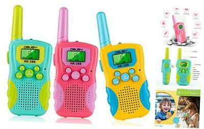 $ CDN58.05 • Buy Kids Walkie Talkies 3 KMs Long Range 2 Way Radio 22 Channels For Kid Toys Gifts