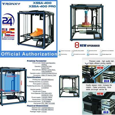 AU812.73 • Buy High Accuracy 3D Printer DIY Kit 400*400*400mm Support Auto Leveling Resume Prin