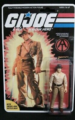 $ CDN156.92 • Buy Gi Joe Cobra 1982-1994 Arah  Custom Indiana Jones Action Figure On Card