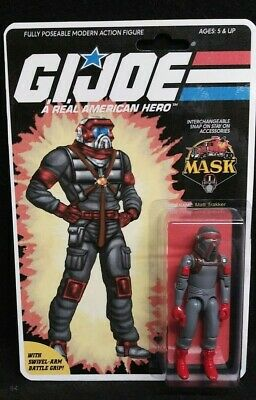 $ CDN156.92 • Buy Gi Joe Cobra 1982-1994 Arah Custom Matt Trakker Action Figure On Card