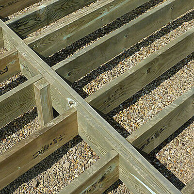 Pressure Treated Garden Framing Timber 3x2  4x2  6x2  Kiln Dried Decking Joists • 49.95£