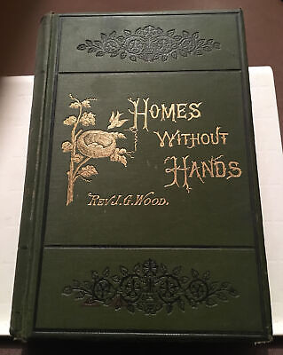 £17.50 • Buy Homes Without Hands By Rev. J.g. Wood, 1880