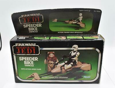 $ CDN104.59 • Buy Speeder Bike MIB Vintage Star Wars ROTJ 1983 Kenner Action Figure Vehicle