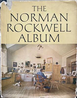 $ CDN150.38 • Buy The Norman Rockwell Album Hand Signed Book His Great Illustrations & Paintings
