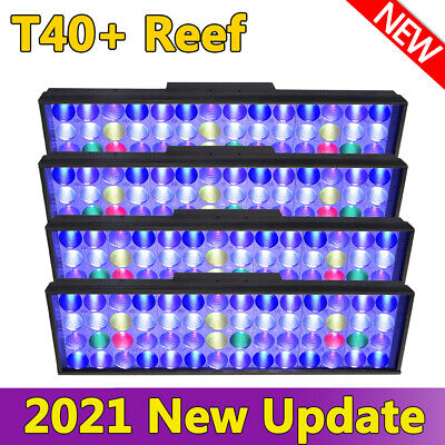 AU718.29 • Buy PopBloom Reef LED Aquarium Light Marine Coral Full Spectrum SPS LPS 72 160cm 6ft
