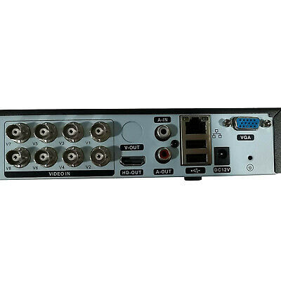 AU75.55 • Buy 1080P 8-Channel DVR Security Camera System DVR Recorder Realtime Recording