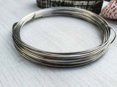 £3.50 • Buy 18g (1mm) Stainless Steel Jewellery Making Wire   304 Grade   5 Metres