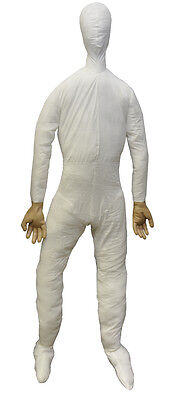 $ CDN42.21 • Buy Halloween Full Size Life Size  Dummy W/ Hands 6 Ft Prop Decoration Haunted House