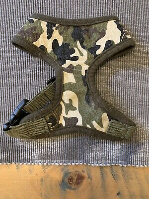 £4.50 • Buy Small Dog Harness- Soft Army Camouflage