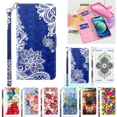 AU14.89 • Buy For IPhone 11 12 Pro Max XR 6 7 8+ Magnetic Flip Leather Wallet Stand Case Cover