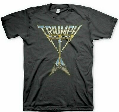 $20.99 • Buy Triumph Allied Forces Hard Rock Heavy Metal Music Canada Band Shirt MM-TR-001