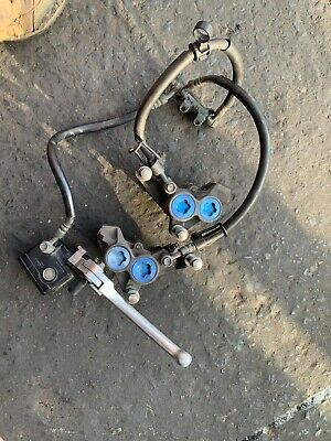 AU225 • Buy Yamaha Xjr1300 Pair Of Front Blue Spot Calipers With Line, Brake Mastercylinder