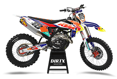 $159.95 • Buy New Dirtx Industries Avant Ktm Complete Graphics Sx Sxf Xc Xcw65 85 125 250 350