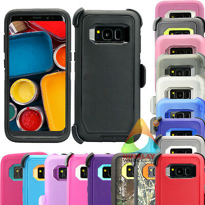 $ CDN10.82 • Buy For Samsung Galaxy S8 S8+ Case (Clip Fits Otterbox Defender) Holster Cover