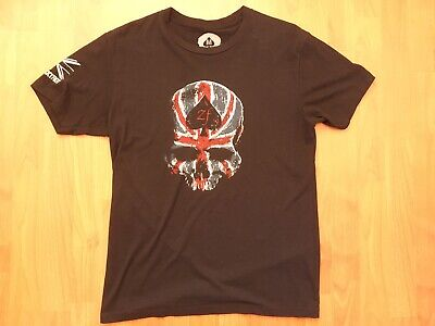 £8.72 • Buy Zulu Foxtrot 'UK Skull' T-Shirt Medium Special Forces As New Condition