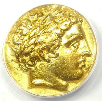 £3545.56 • Buy Ancient Greek Philip II AV Gold Stater Coin 359-336 BC - Certified ANACS VF35