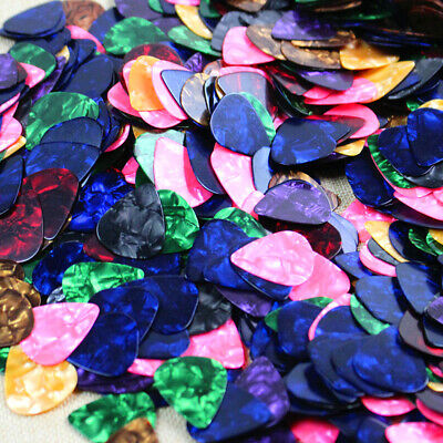 $ CDN1.70 • Buy 10x Acoustic Bulk Celluloid Electric Smooth Guitar Pick Picks Plectrums 0.46mm