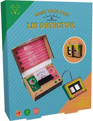 £16.95 • Buy Fizz Build Your Own Lie Detector Childrens Creative Electronics Science Kit New