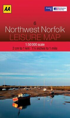 £5.49 • Buy Leisure Map Northwest Norfolk (AA Leisure Maps) By AA Publishing Book The Cheap