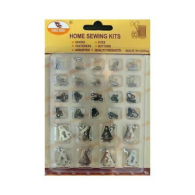 £3.99 • Buy Sets Of Trouser Hooks And Bars For Skirts Or Trousers Tunic Fasteners