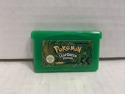 $109.99 • Buy Pokemon: Leaf Green Game Boy Advance GBA AUTHENTIC European Release Tested Works
