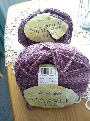 £11 • Buy James C Brett Marble Chunky Wool And Girls Patterns