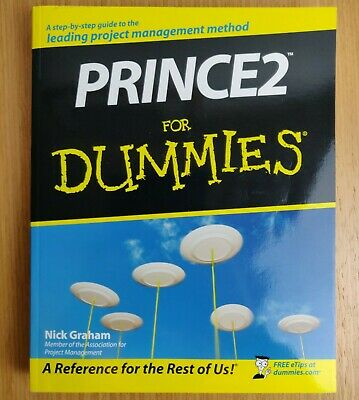 £10.99 • Buy Prince2 For Dummies By Nick Graham - Paperback 2008 Prince 2 Project Management